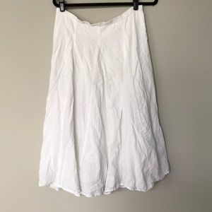 Vintage Old Navy white cotton maxi skirt